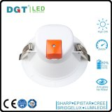 luz de techo montada ahuecada RoHS moderna del Ce LED del CRI 80 de la lámpara de inundación 8W Downlight 3 pulgadas
