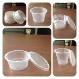 Стеклянная чашка мороженного делая машину