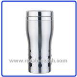 Tasse de café, tasse de voiture, tasse de voyage d'acier inoxydable (R-2252)