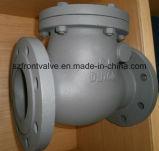 O ferro de molde BS5163 flangeou válvula de verificação do balanço