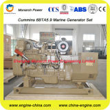 80kw/100kVA Marine Main Generator door Cummins 6BTA5.9-GM100