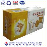 Papel de encargo barato que empaqueta los rectángulos del PVC para la galleta