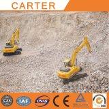 カーターの熱い販売22tの多機能のクローラー頑丈なバックホウの掘削機