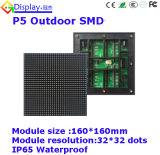 Módulo ao ar livre da tela de indicador do diodo emissor de luz da cor P5 cheia para anunciar