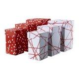 Коробка подарка картона Handmade бумаги упаковывая