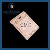 Tarjeta de la visualización del pendiente de la alta calidad con el papel de la textura cubierto (CMG-070)