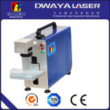 Laser 20W, laser Marking Machine della fibra di Portable Fiber per Stainless Steel Color