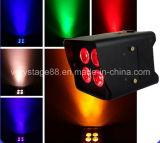 Luz sin hilos teledirigida de la IGUALDAD de la batería LED Uplight del IRC de DMX512 4PC 18W 6in1 WiFi