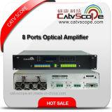 1/4/8 amplificador óptico Erbio-Dopado CATV /Multi-Port EDFA de la fibra de los accesos EDFA 1550nm