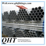 Горячее Dipped Galvanized BS1387 Steel Tube на Stock