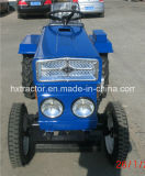 Гуляя Mini Small Tractor 15HP 2WD для сада Usage