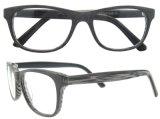 2016 Frame van de Acetaat van de Glazen van de Manier van het Frame Eyewear van de Manier het In het groot Optische Naakte Met de hand gemaakte