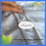 Protector respirable impermeable suave del colchón de Jersey solo