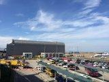 Folha de alumínio da telhadura da emenda da posição (aeroporto de Macau)