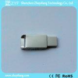 2016 Nuevo diseño de la cuña de metal de la forma del USB Stick (ZYF1715)