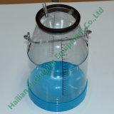 Cubeta transparente do balde de leite de 25 litros com tampa