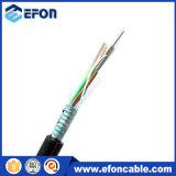 Os 12 núcleos ao ar livre dirigem o cabo da fibra óptica do enterro para a rede