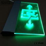 Lampada del segno del LED, lampada dell'uscita, indicatore luminoso di indicatore, spia