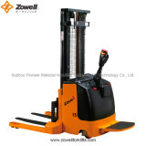 Maximum Lifting Height 5.5mのセリウムStraddle Electric Forklift
