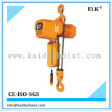 Electric Trolley를 가진 3ton Double Chain Fall Electric Hoist