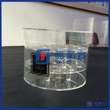 Fournisseur de vitrine en acrylique en forme ronde
