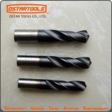 Dígito binario de taladro sólido del punto del carburo usado para el acero