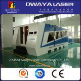 Corte de fibra óptica del acero inoxidable de la cortadora del laser de Dwy
