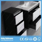 Vanité moderne de salle de bains de meubles de type de laque chaude de lustre (BF133M)