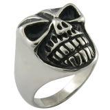 Anillo de la joyería del acero inoxidable del anillo del motorista