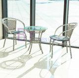 mobília interna e ao ar livre do balcão by-494 simples da barra do jardim do Rattan