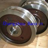 Используемый кран Grantry кующ колесо