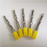 Broca personalizada 2 flautas da etapa do carboneto para a perfuração de alumínio