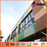 панель плакирования стены множественного цвета напольная PVDF толщины 4mm алюминиевая