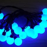 옥외 훈장을%s 백색 LED 공 끈