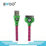 Kundenspezifisches flacher Blitz Mikro-USB-Datenübertragung-Kabel