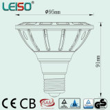 Diodo emissor de luz aprovado PAR30 do TUV Dimmable Scob 2800k 12With15W (LS-P718)