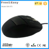 La Cina Supplier 7D Ergonomic Gaming Mouse con Fire Button