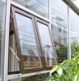 مزدوجة ألواح ألومنيوم ظلة نافذة ألومنيوم علبيّة يعلّب نافذة