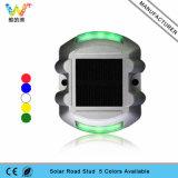 vite prigioniera solare di alluminio riflettente della strada dell'indicatore luminoso verde LED di 3m