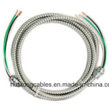 UL 1569 3X10 3X8 3X6 AWG Steel/Mc Cable van Aluminum Tape Armoured