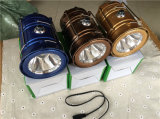 Lanterna solare di campeggio ricaricabile della lanterna del rifornimento della fabbrica