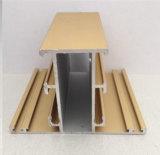 Ventana de desplazamiento vertical de la nueva del diseño de Constmart ventana anti de aluminio del hurto