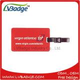 Tag personalizado da bagagem da lembrança do logotipo para o presente