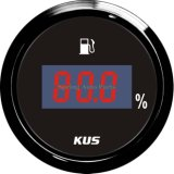 "LED Display 2 "" Backlight를 가진 52mm Digital Fuel Level Gauge Meter"