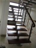 304 inferriate di legno della scala dei corrimani del tubo di usura