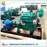 Pompe à eau diesel mobile d'irrigation de ferme de 6 pouces