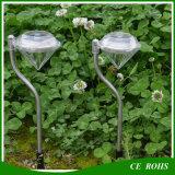 Im Freien des Edelstahl-LED Solargarten-Rasen-Landschaftslampe pfad-Methoden-Licht RGB-Diamend