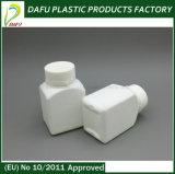 100ml PEの正方形のプラスチック薬のびん