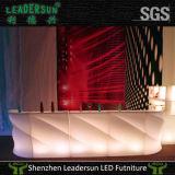 Contador do clube de noite da forma da mobília do diodo emissor de luz