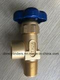 Válvula de Italia para los cilindros/los tanques/las botellas oxígeno-gas